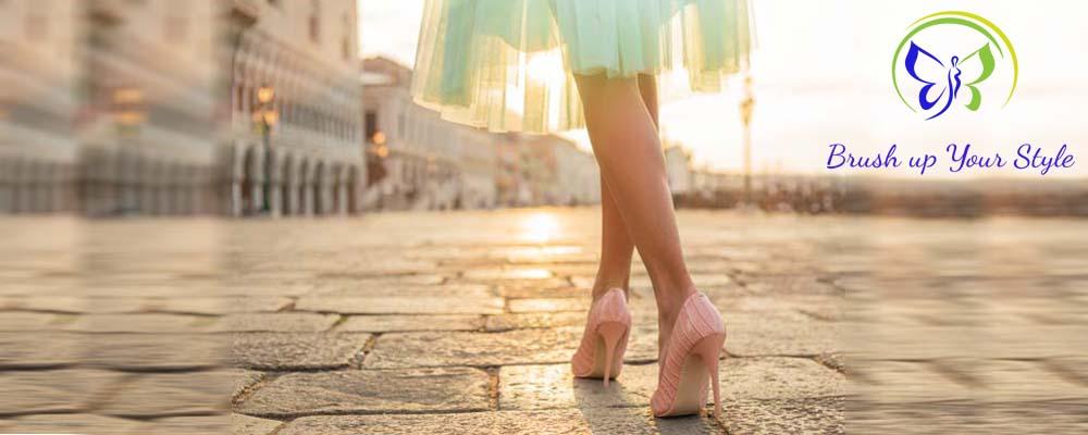 Schuhe geben dem Stil die Basis